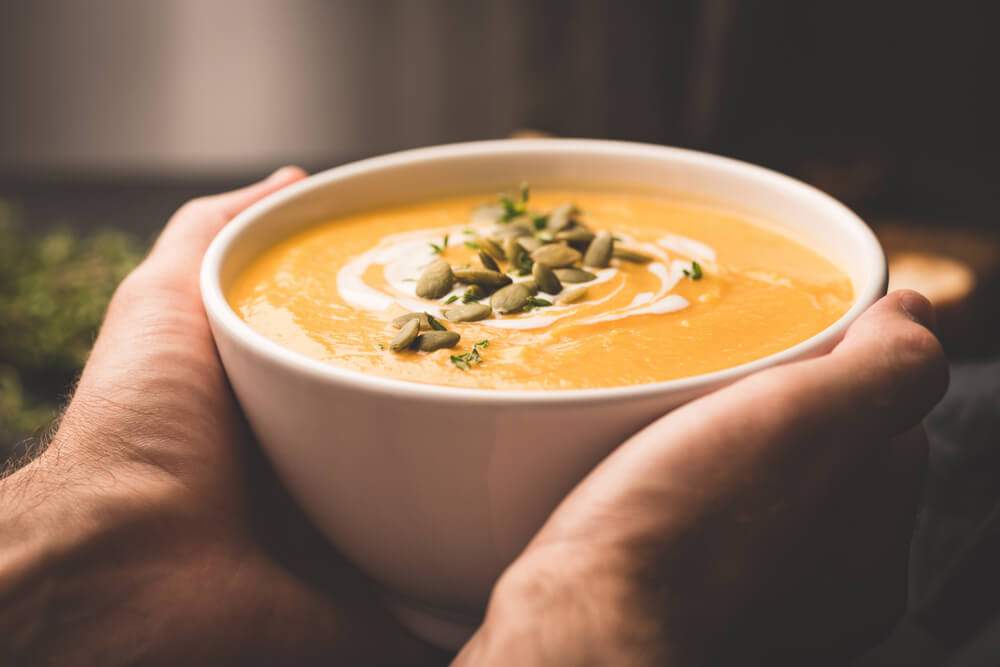 Bučna juha za prvi jesenski vikend