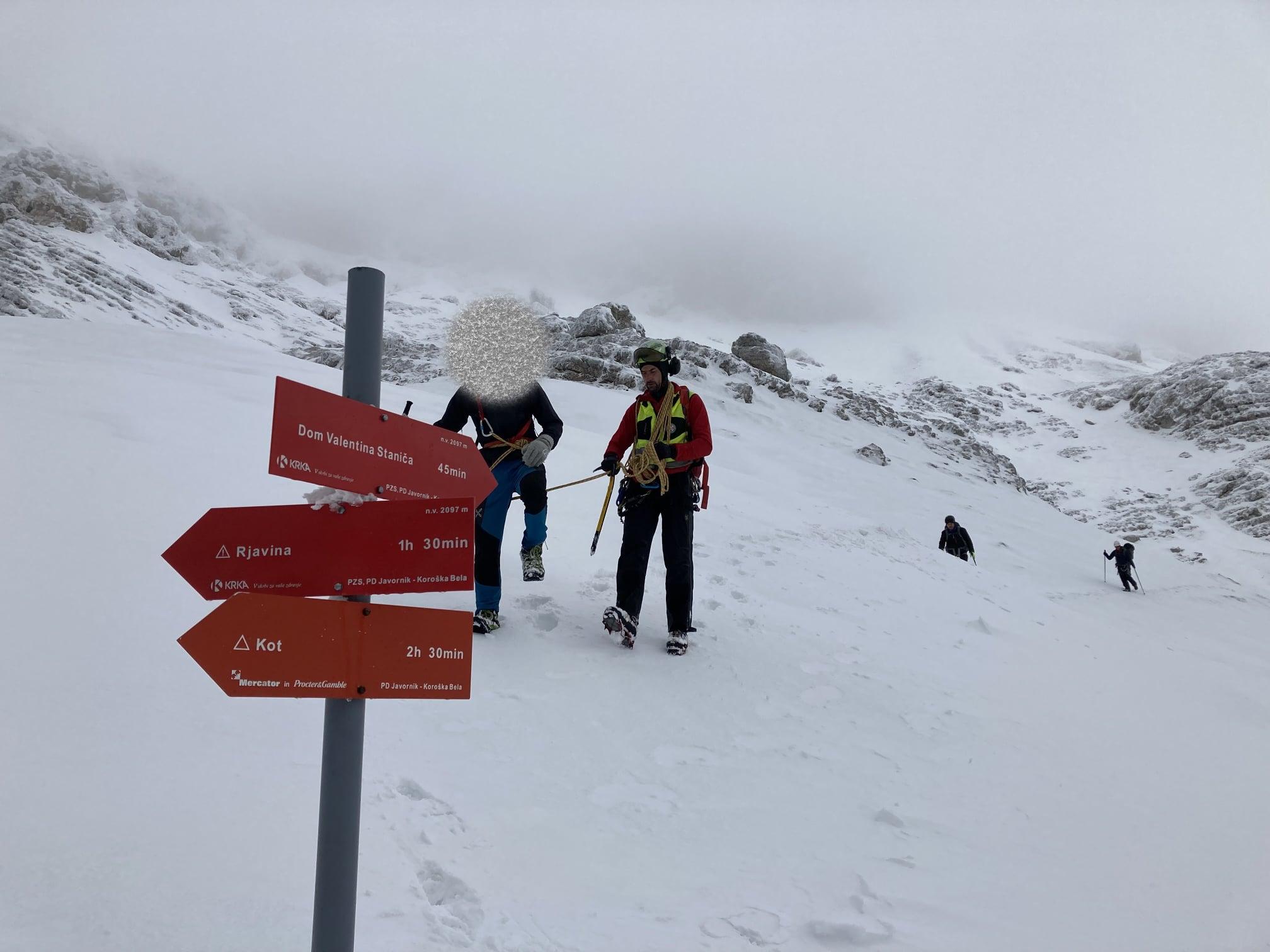 Gorski reševalci opozarjajo na snežne razmere v gorah!