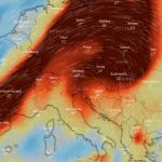 Nad Slovenijo vulkanski prah in SO2 - omejite gibanje na prostem